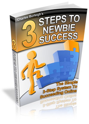 Product picture 3 Steps To Newbie Success!